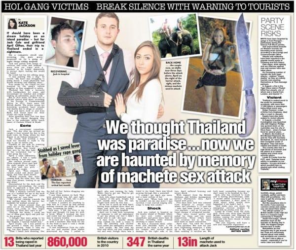 Thai Machete Attack