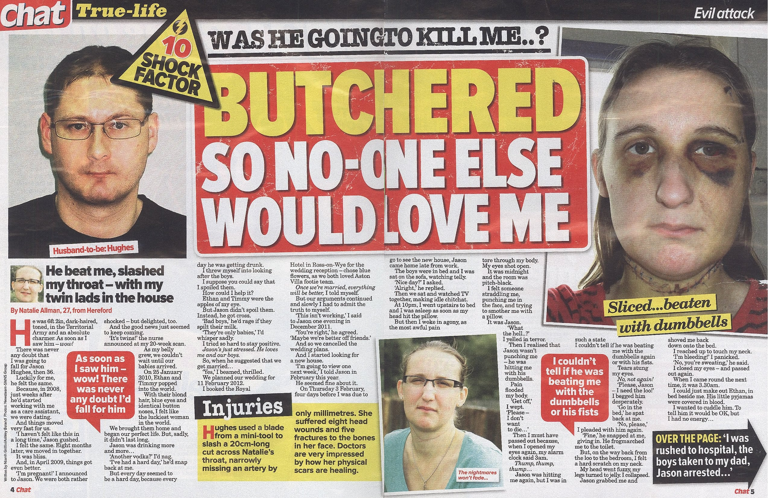 Tortured by Fiancee for Seven Hours
