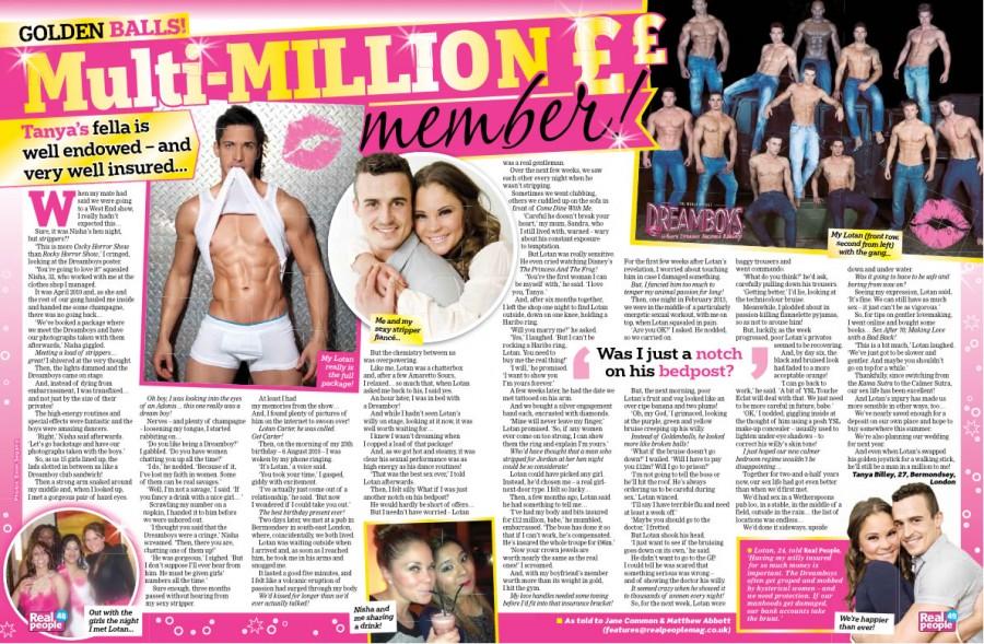 Penis Insurance: My Boyfriend's £12 Million Willy!