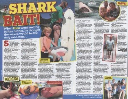 Shark Bite Injury