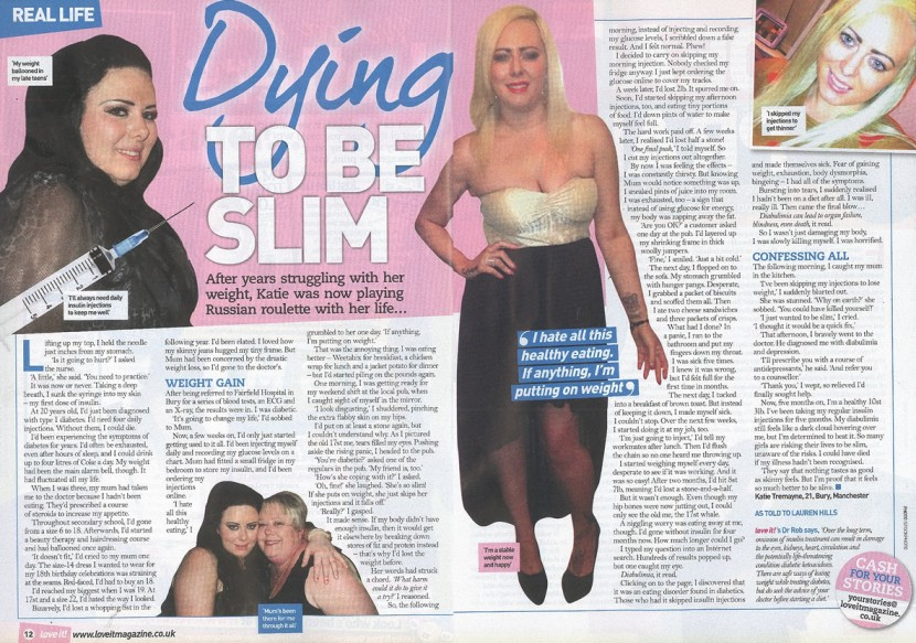 Dying to be Thin – Diabulimia Story