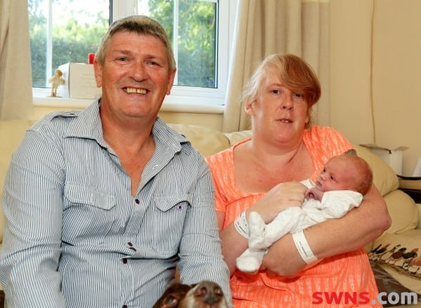Surprise Baby born 15 hours after pregnancy discovery