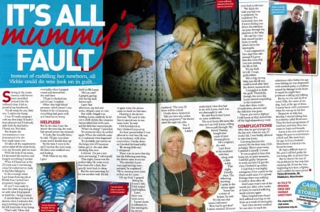 My child contracted meningitis and it was my fault
