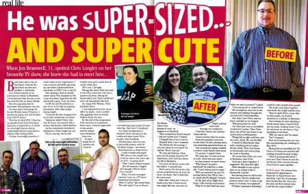 The biggest loser star finds love from afar
