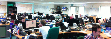 SWNS Head Office Newsroom