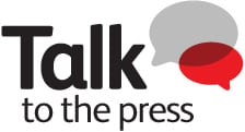 Talk to the Press Logo