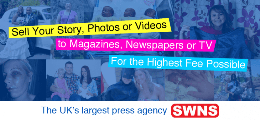 Sell My Story, Photo, or Video Clip to the Press…