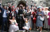 We had a Doctor Who fancy dress wedding
