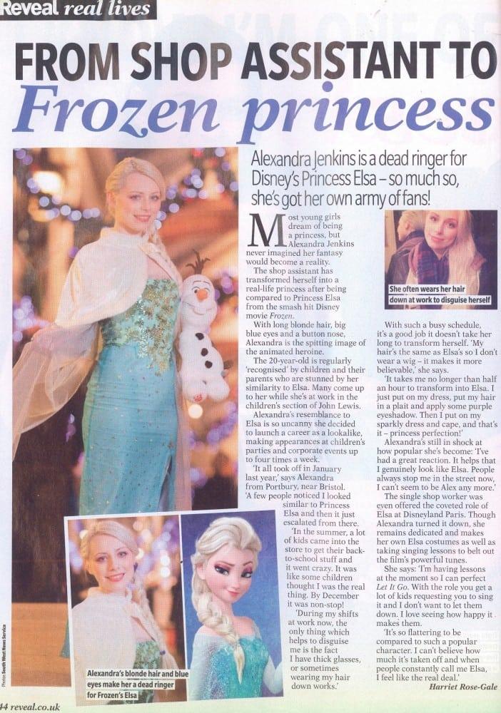 Reveal, January 15, Harriet, Frozen girl