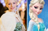 The Real Frozen Princess Elsa...