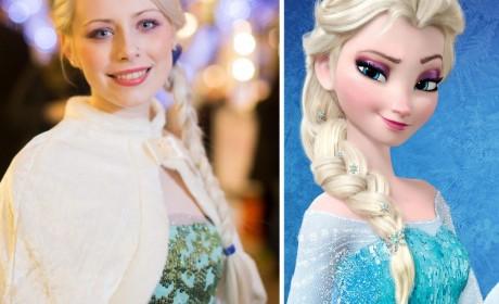 The Real Frozen Princess Elsa…