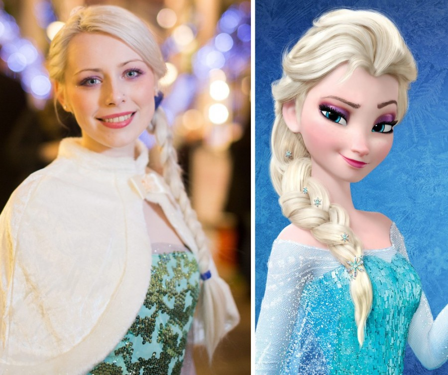 The Real Frozen Princess Elsa…