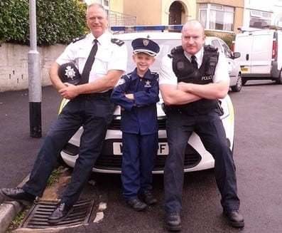World's Youngest Policeman…