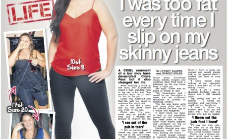 Revenge weight loss: I shifted fat after nasty comment in pub