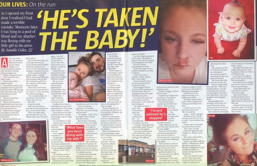 Real life story: My husband has taken our baby!