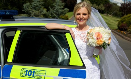 Sell a funny story to a magazine like this banged up bride!