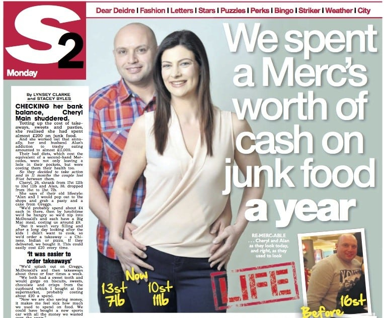 Is junk food cheaper?  This couple spent a 'Merc's worth a year' on ready meals and takeaways