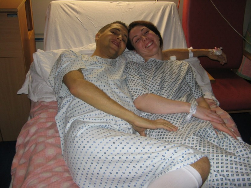 Finding a perfect match: Jen gave Dan her heart, a new liver and a baby!