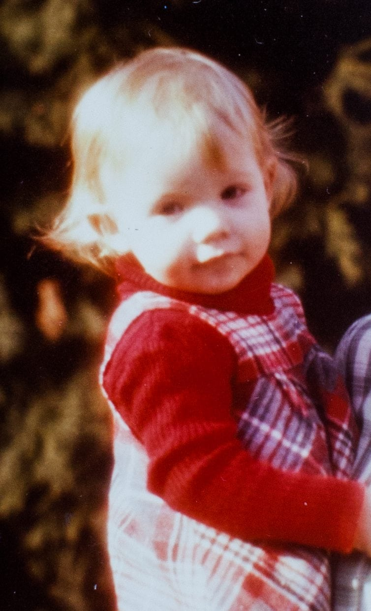 Collect of Bobbie Wood as a child. 10/08/2015
