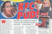 See what happened when I went on a KFC diet...