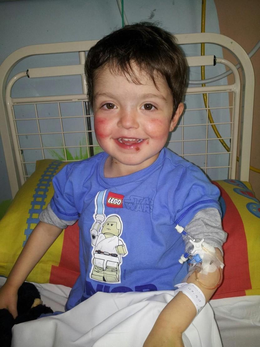Meet one brave little boy…