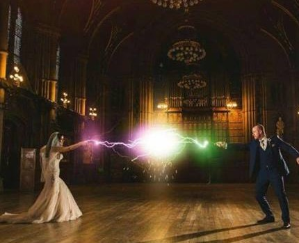Our Harry Potter Wedding