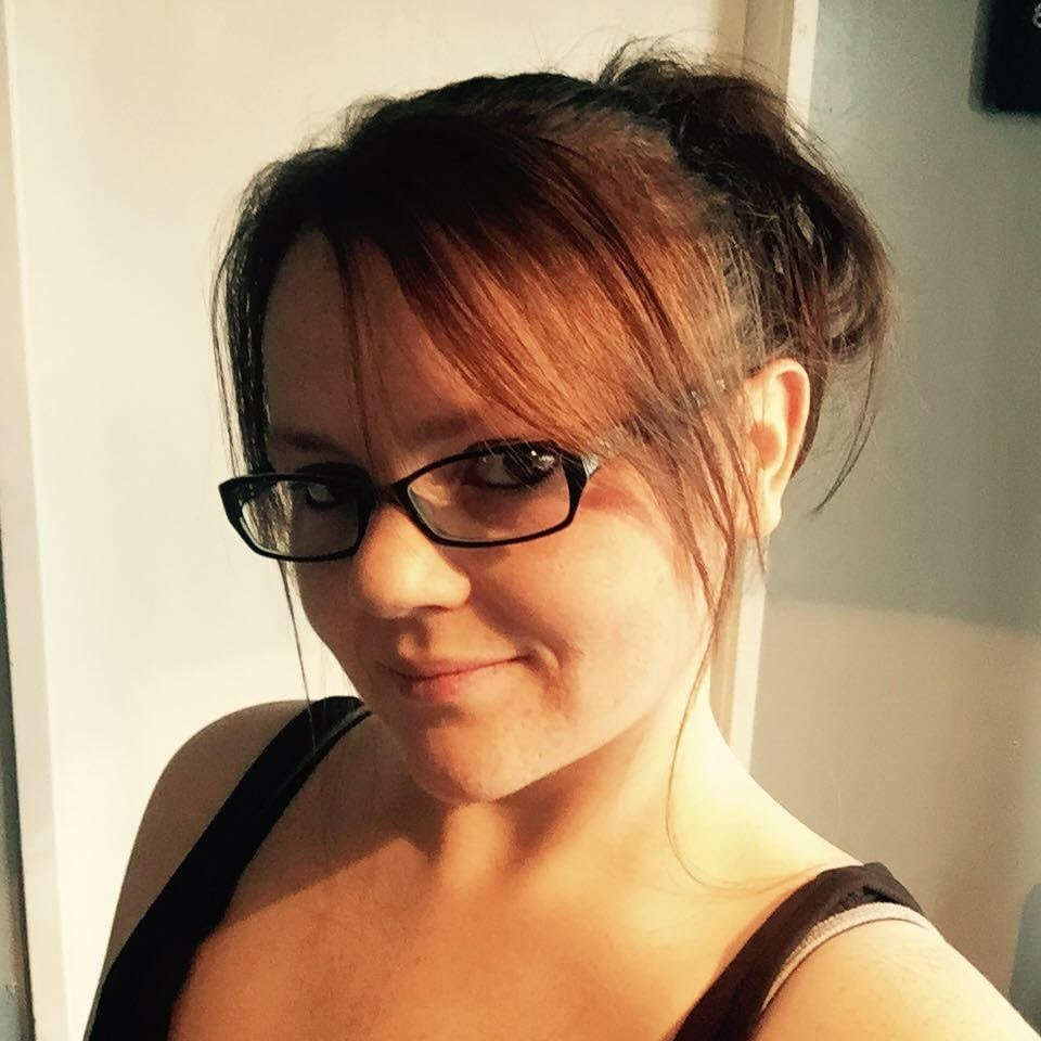 Rebecca Stanton, 29, after losing six stone