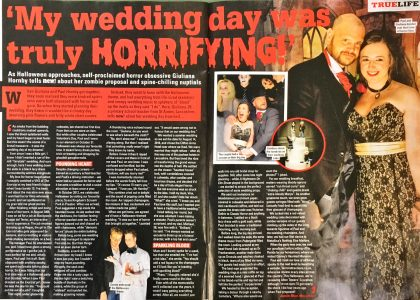 Sell our wedding story to a magazine