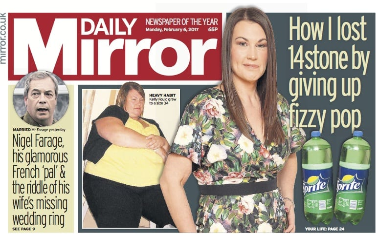 Sell my diet story: I lost 14st after ditching fizzy pop