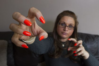 My ex tried to kill me   My nails saved my life   Share my story